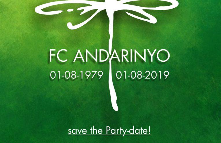 FC Andarinyo jubileum